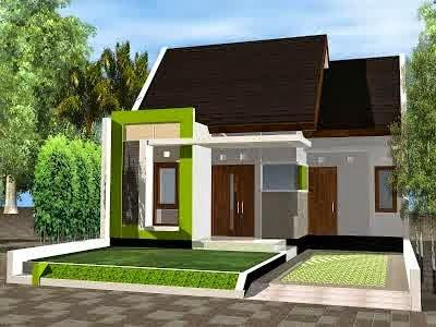 Contoh Desain Rumah Mungil 1 Lantai Tipe 36