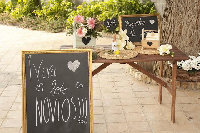 Ambientes para bodas by Fiesta y chocolate