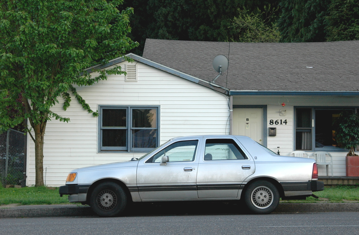1984 mercury topaz gs sedan
