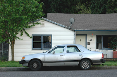 1984 Mercury Topaz GS Sedan.