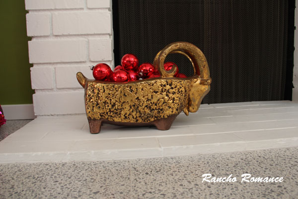 Rancho romance mid century modern christmas decorations
