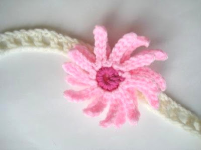 Baby Headbands Newborn Baby Headbands Girl Flower Crochet Headbands