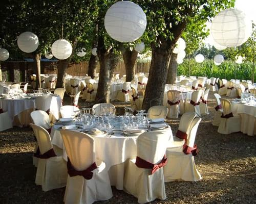 Almudena 39 s dream wedding ideas decorando el jard n para for Adornos boda jardin