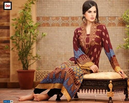 LSM Fabrics Kurtis Collection 2014-15