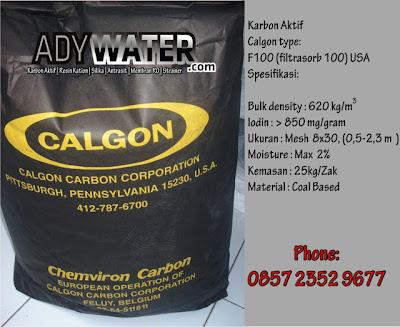 Jual Karbon Aktif Calgon