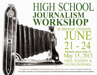Apply now for 2015 High School Journalism Workshop