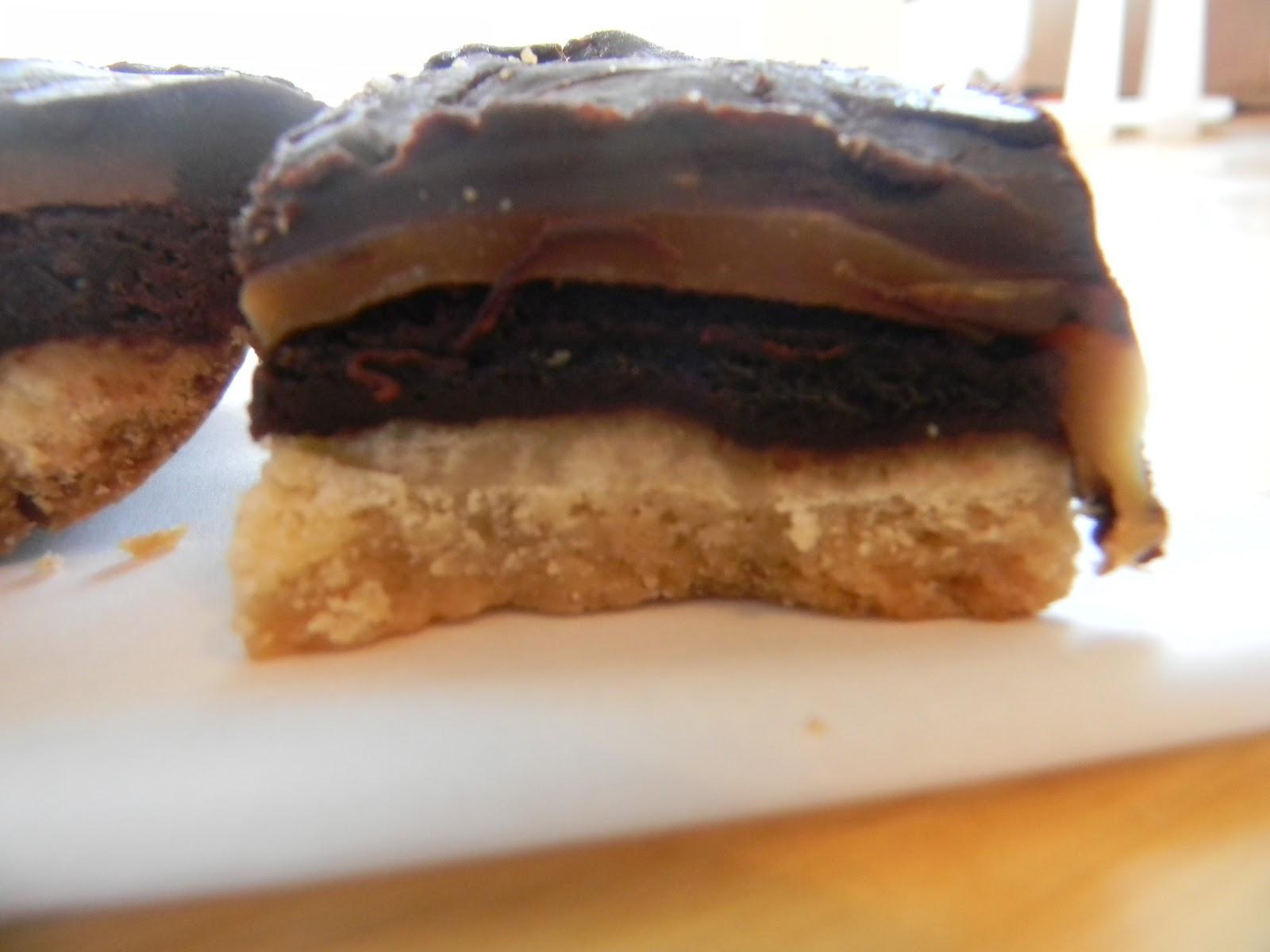 Twix Brownies Recipe — Dishmaps
