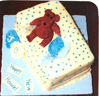 Sofa Teddy Bear Rolled Fondant Cake Decorating