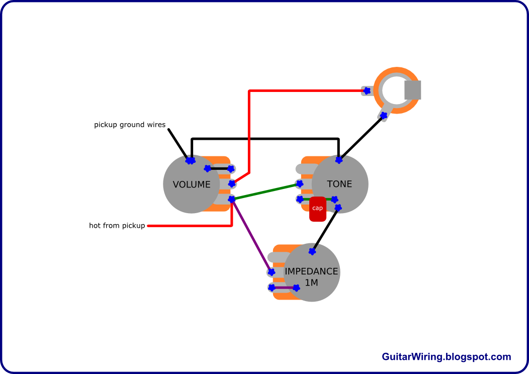 guitar tuner wiring diagram guitar wiring diagrams online the guitar wiring