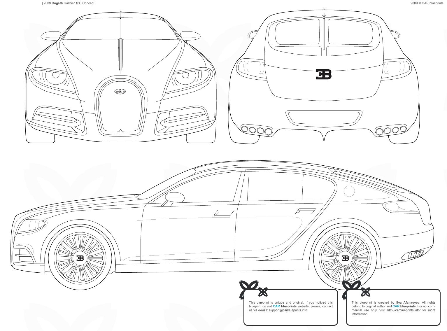 Sports Car News Blueprints