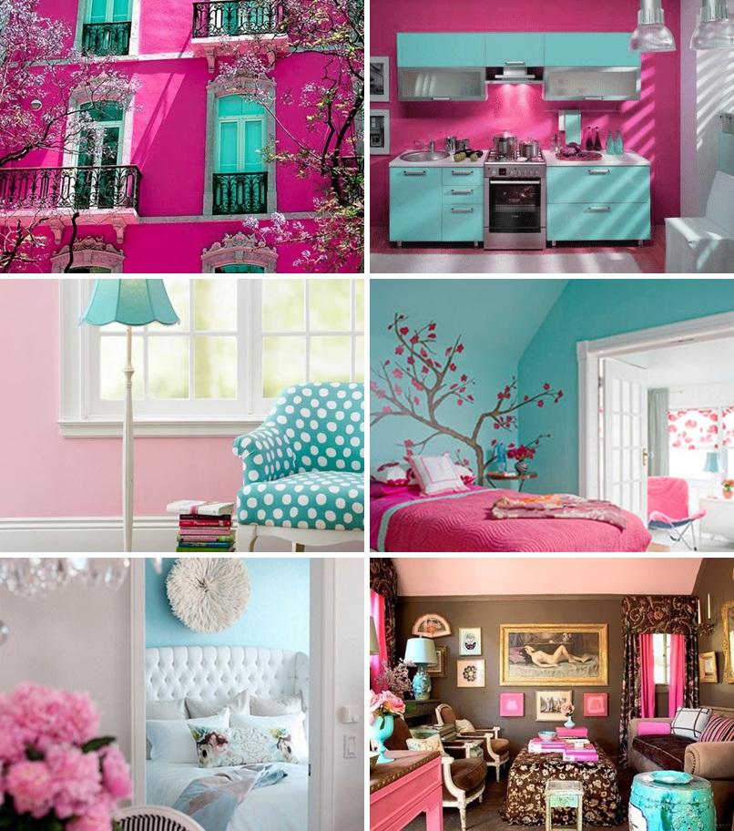 decoracao quarto azul turquesa e amarelo – Doitri com ~ Quarto Rosa Azul E Amarelo