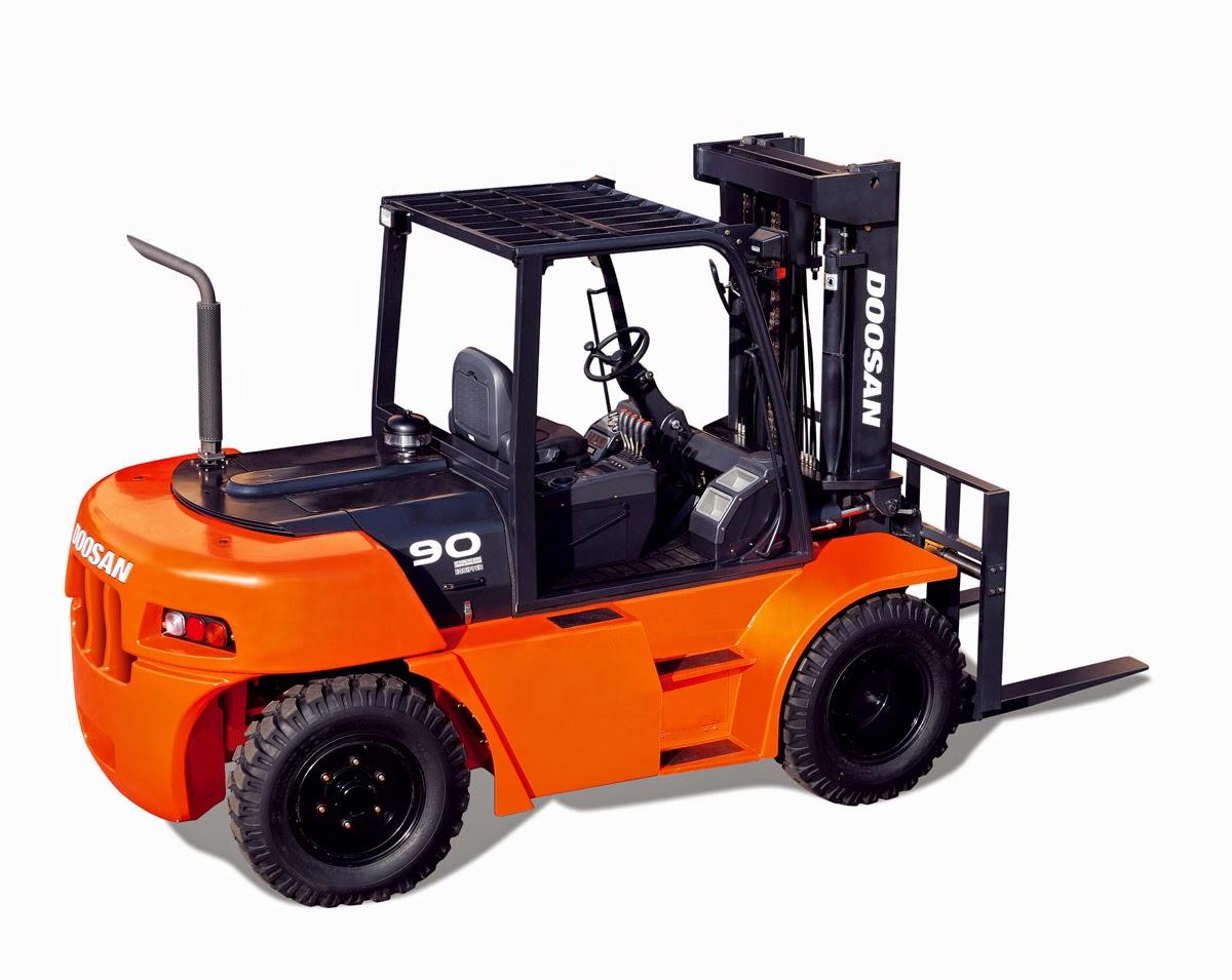 Tampilan Doosan Forklift yang Ciamik