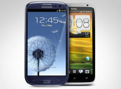 Samsung Galaxy S3 vs. HTC One X