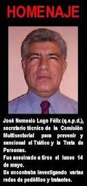LIC. JOSE  NEMECIO LUGO FELIX