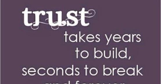 best top ten trust quotes of different authors sad