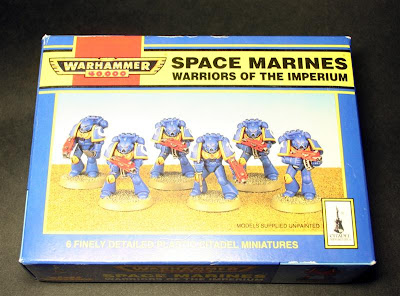 Space Marines Warriors of the Imperium
