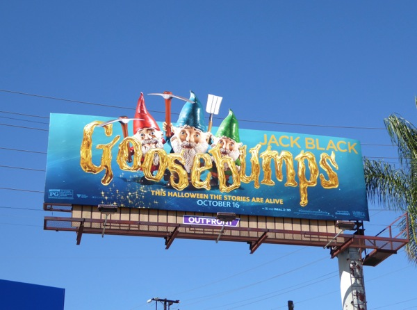 special Goosebumps Gnomes billboard