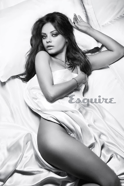 Mila Kunis Naked - Sexiest Woman Alive 2012 Photo Shoot by Esquire
