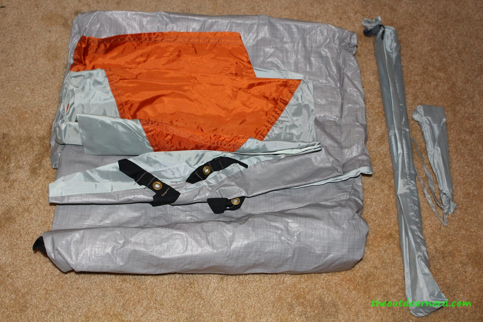 Ozark Trail Backpacker's Tent Unpacked