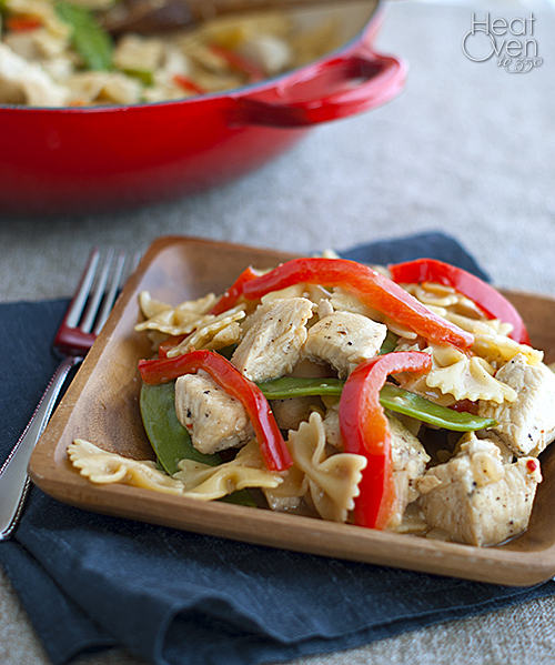 Thai Chicken Pasta