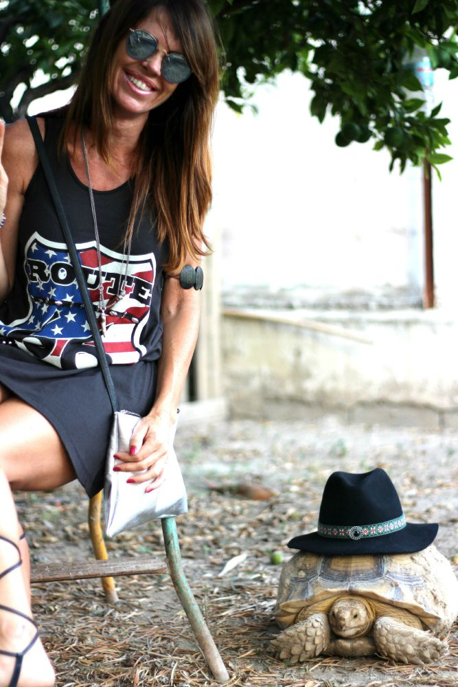 Low Cost Dress - Romanas - Gladiadores shoes - fashion blogger