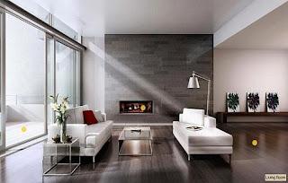 Ruang duduk minimalis 4
