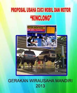 Proposal Usaha Cuci Mobil