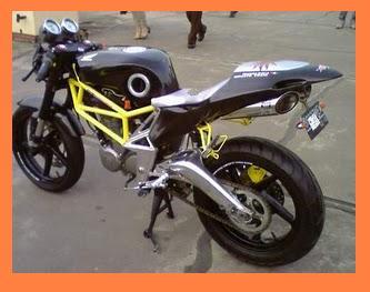 MODIFIKASI MOTOR HONDA TIGER STREET FHIGTER NEW 2000 design 14. title=