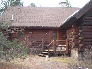 Log home before porch project http://www.huismanconcepts.com/