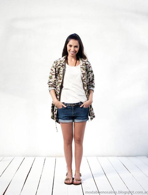 Ver shorts de jeans verano 2014. Moda verano 2014.