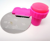 nail stamping plate stamper scraper