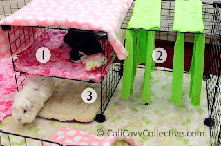 3diy C&C bunk bed fleece forest