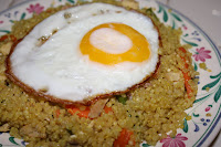 quinoa stirfry salad