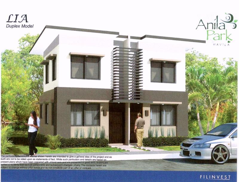Lia Duplex House Model at Anila Park Taytay, House and lot for sale in Taytay
