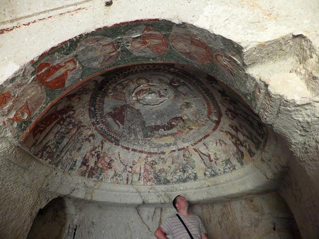 Змеиная церковь Каппадокия