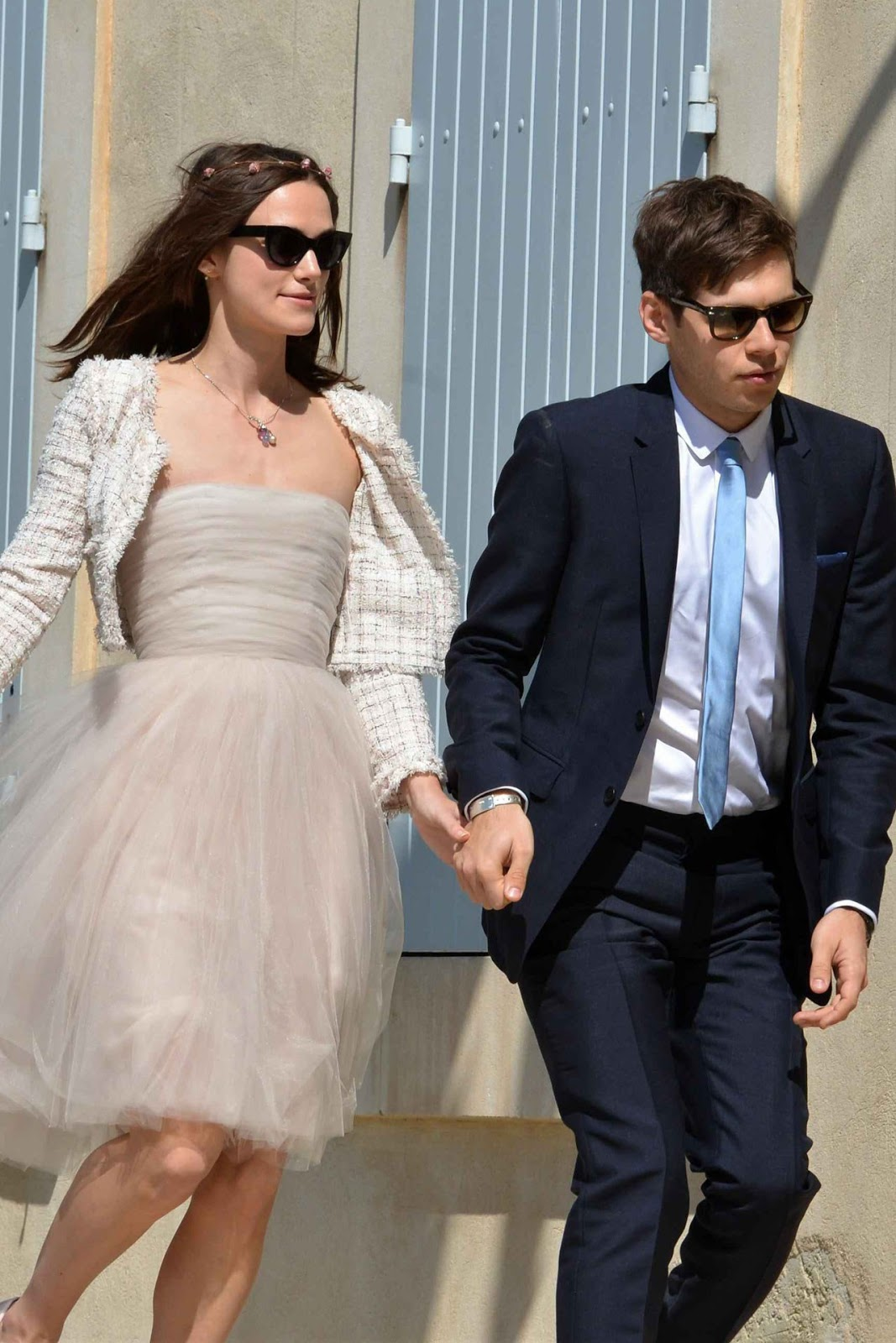 Keira Knightley in Chanel at her Wedding with James Righton