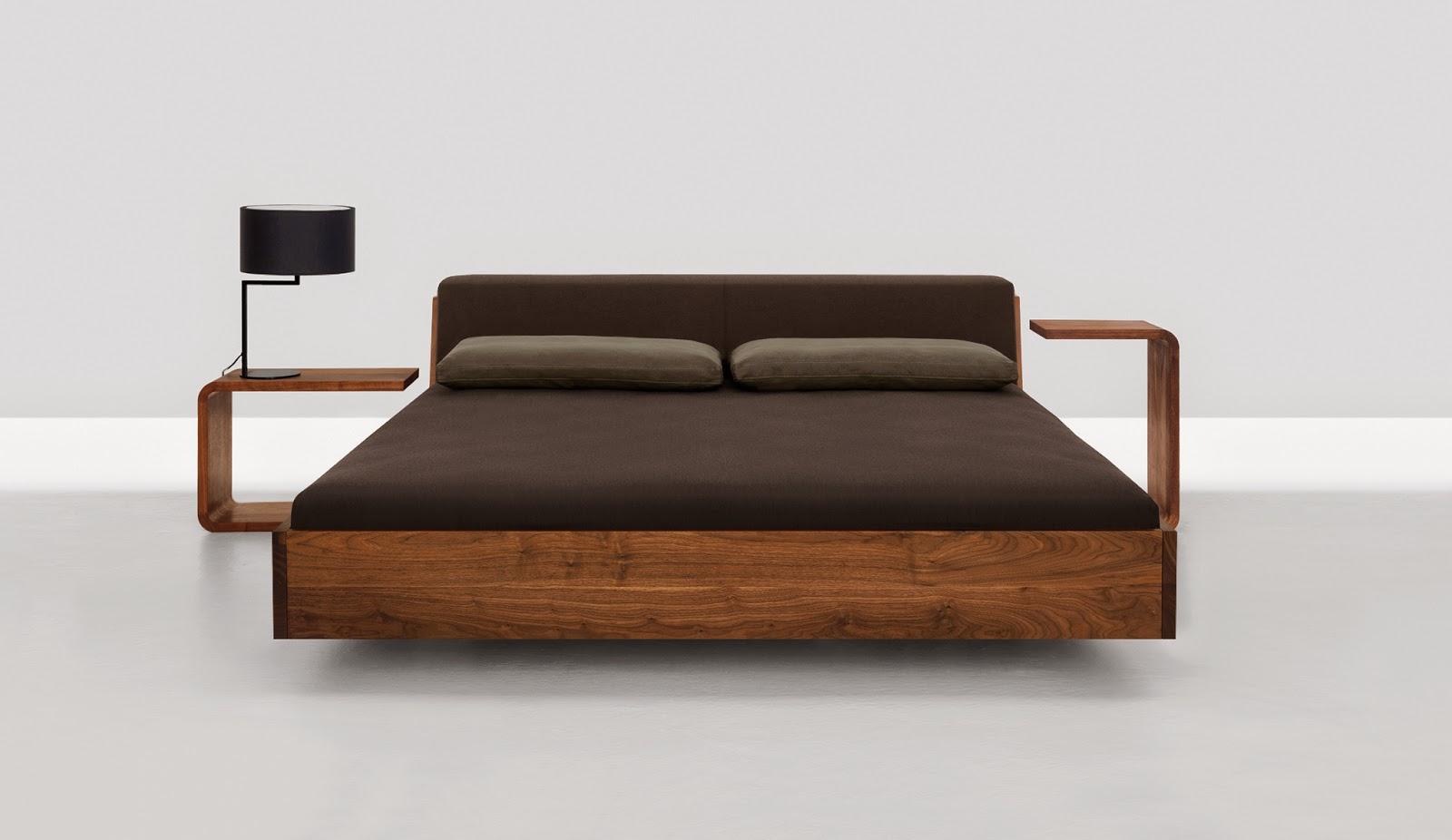 Holzbett design for Moderne holzbetten
