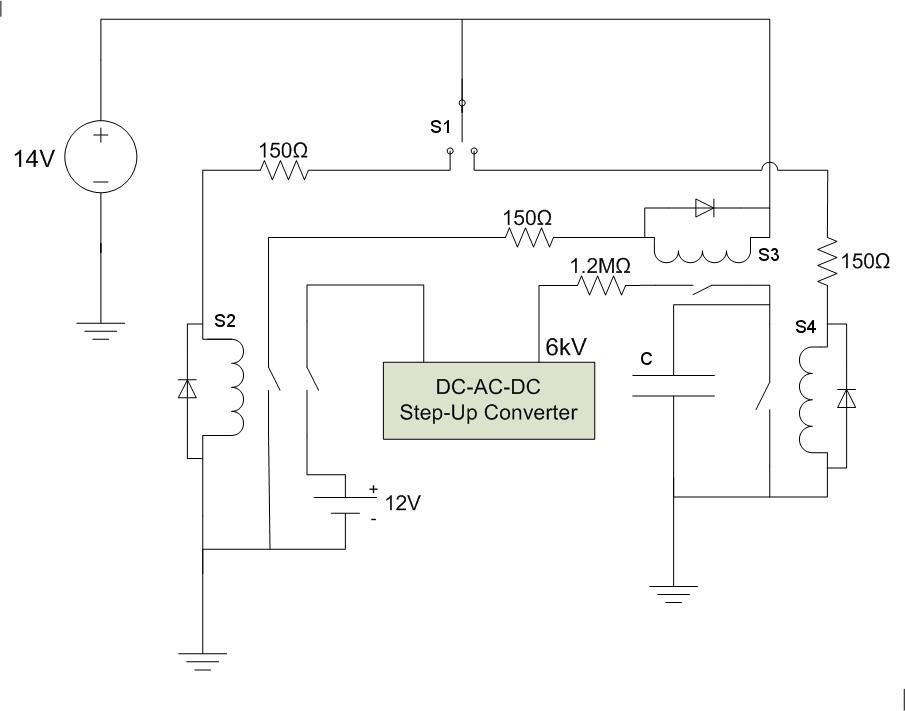capacitor bank diagram