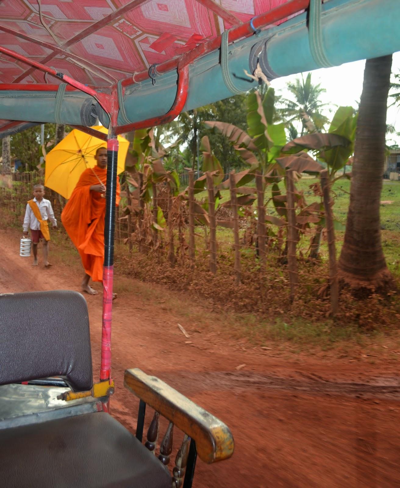 kampot countryside cambodia