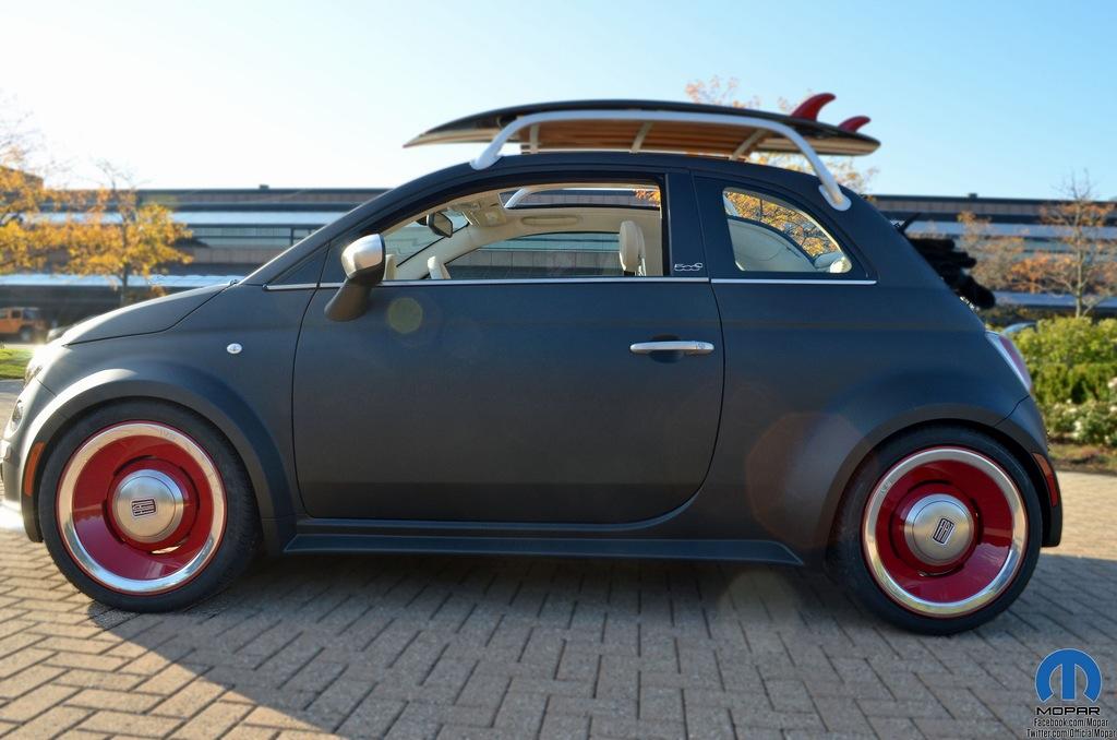 2012 Mopar Fiat 500 Beach Cruiser Concept