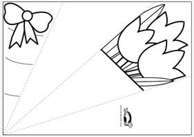 Boyama Ve Katlama Metoduyla Bir Demet further 3 as well Pond Homes Coloring Pages together with Coloring Page Outlined Spiral Christmas Tree Ornament 100656 together with Masonry 9. on construction paper flowers