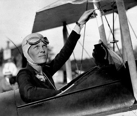 amelia earhart, figure heroique americaine | california dreaming