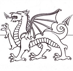 Wales Colouring Pages And Books