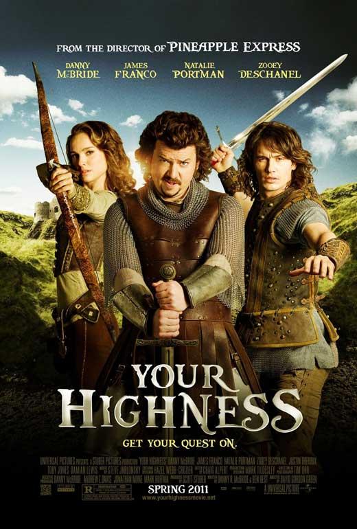 Your highness (Caballeros, princesas y otras bestias) (Una loca aventura medieval) (2011) Español Latino
