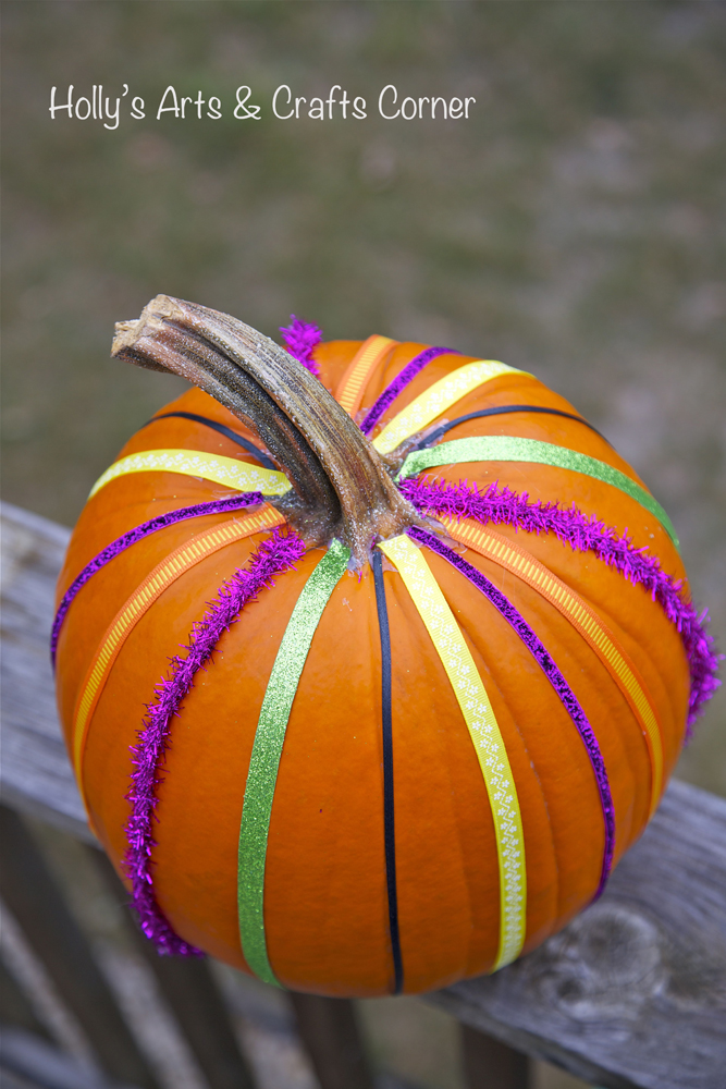 holly s arts and crafts corner craft project our pinterest pumpkins