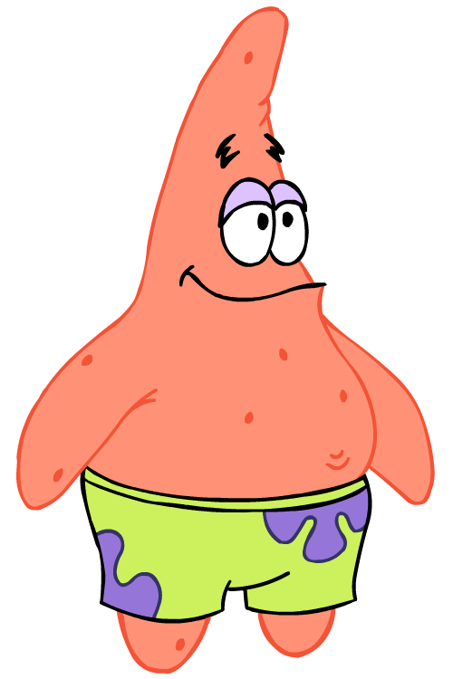 Cartoon Characters: Spongebob PNG