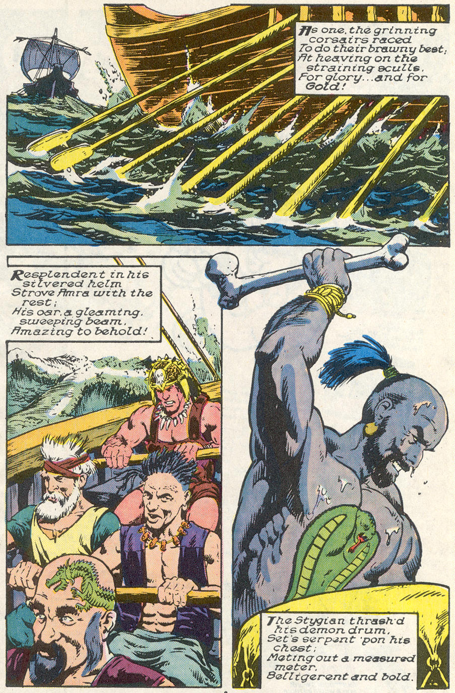 Conan the Barbarian (1970) Issue #221 #233 - English 6
