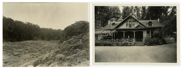 (Left) Stern Grove, c. 1931; (right) Trocadero Inn, c. 1936 California Historical Society, CHS2012.944, CHS2012.945