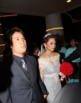 Gambar Perkahwinan Zed Zaidi & Nelly