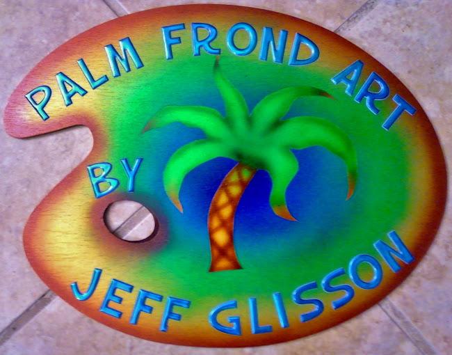 PALM FROND ART